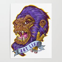 Art Life Denominator Poster