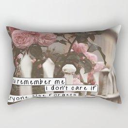 If you remember Haruki Murakami Rectangular Pillow