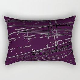 Neon Disco #5 Rectangular Pillow