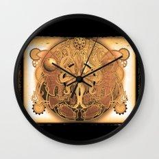 OCTO-CHAO Wall Clock