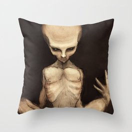 The Demonic Realm Throw Pillow