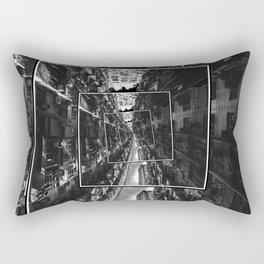 Spinning City Rectangular Pillow