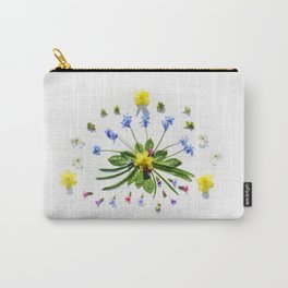 Spring flowers and branches II Carry-All Pouch