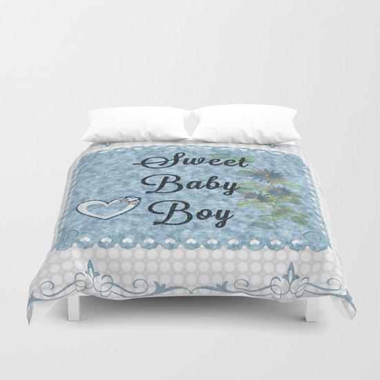 Sweet Baby Boy Duvet Cover