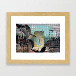 """'Faked Light, Take Flight"""" Framed Art Print"""