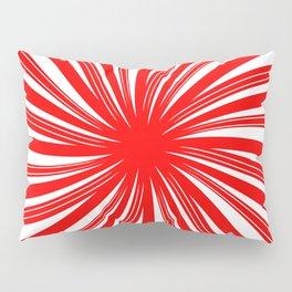peppermint twist - candy cane mint Pillow Sham