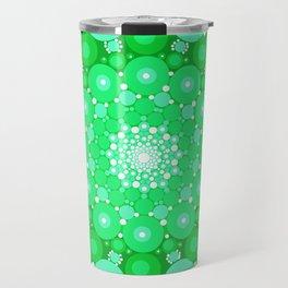 Emerald Mandala Travel Mug