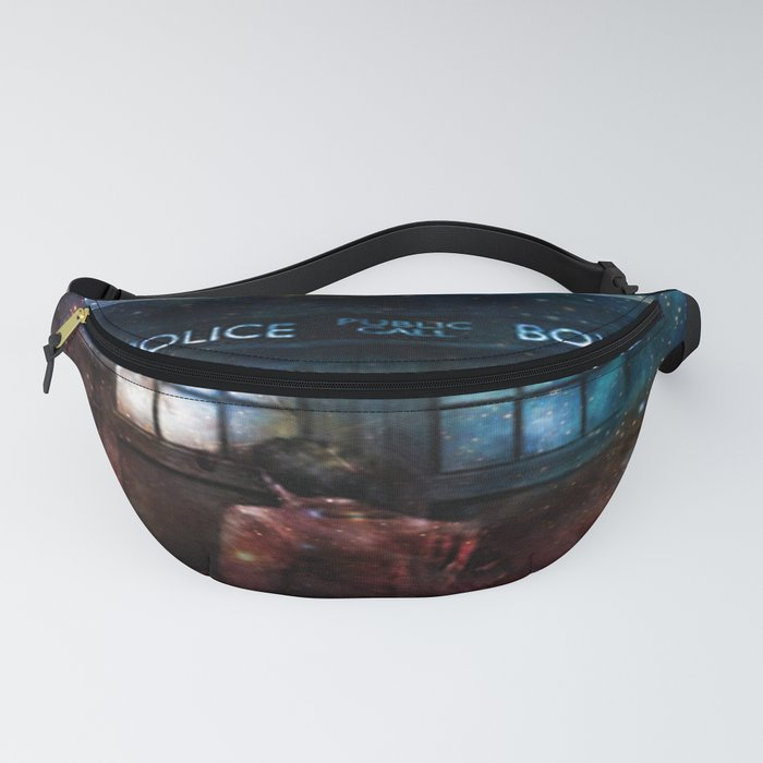 Doctor Who Tardis In Space Fanny Pack