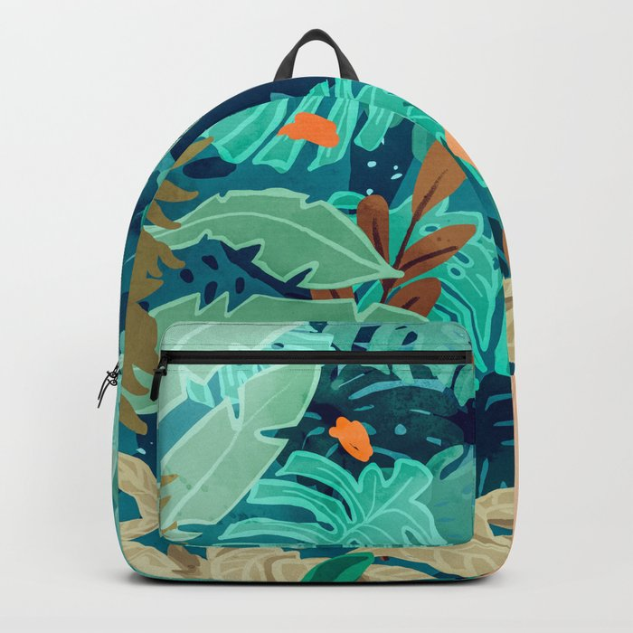 Backyard #illustration #painting Backpack