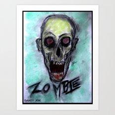 Z O M B I E Art Print