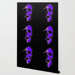 Skull - Purple Wallpaper