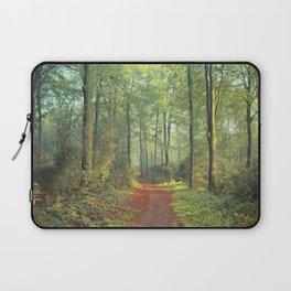 Forest Morning Walk Laptop Sleeve