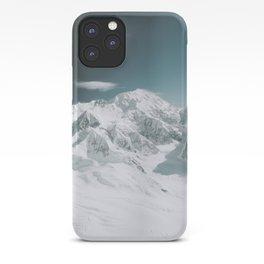 Snowy Mountain : Mount Denali, Alaska iPhone Case