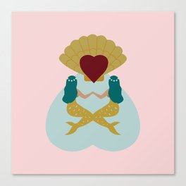 Mermaids Canvas Print