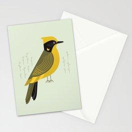 Helmeted Honeyeater, Bird of Australia Stationery Cards