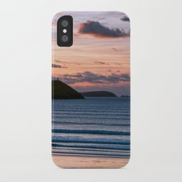 Polzeath Sunset iPhone Case