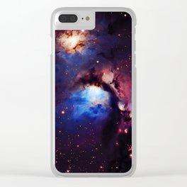 M 78 Nebula Clear iPhone Case
