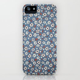 Floral Fabric iPhone Case