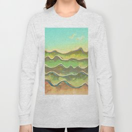Magic Flight over the Sea of Clouds Long Sleeve T-shirt
