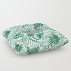 Green Tropical Mix Floor Pillow