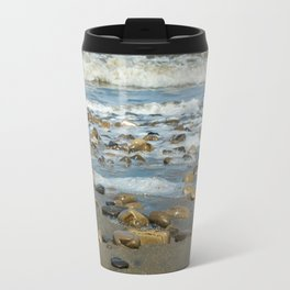 Beach Rocks Travel Mug