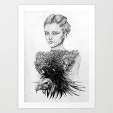 Vulture Art Print