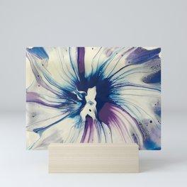 Purple Blue Spin Mini Art Print