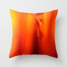 Hot Siberian Winter Throw Pillow