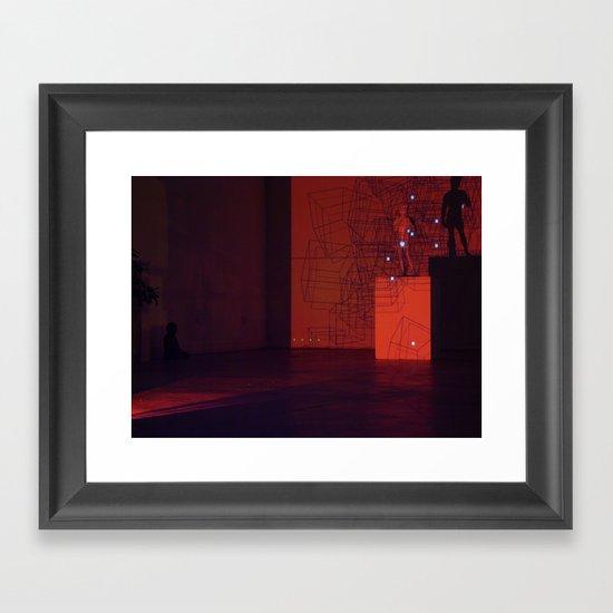 Projection 1 Framed Art Print