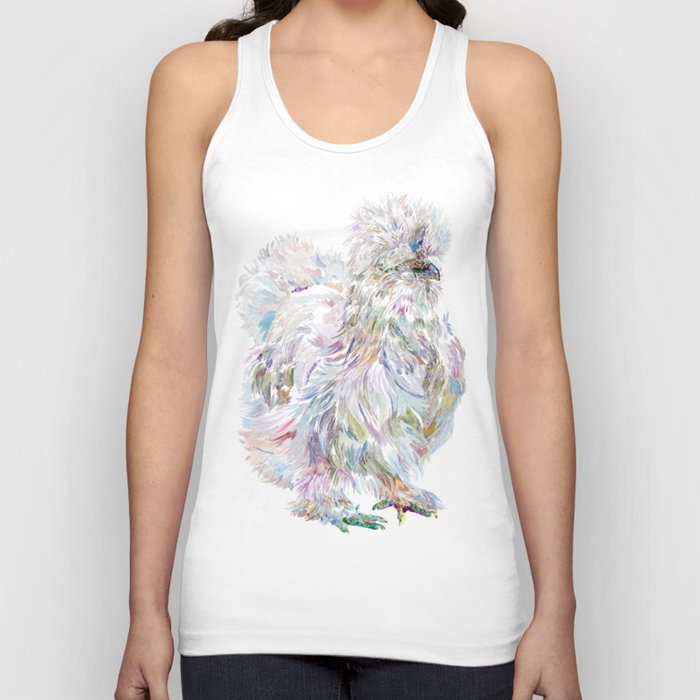 Silkie Chicken - Buchu Unisex Tank Top