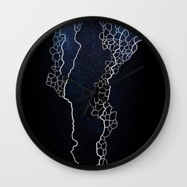 meshed up universe Wall Clock