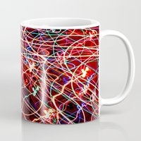the lights Mugs featuring Lights by Serena Gailey