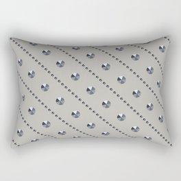 "Illustration .   "" Diamonds"" . Rectangular Pillow"