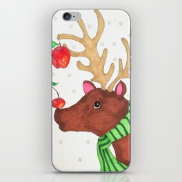 Wishing Rudolf  iPhone Skin