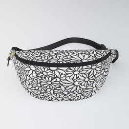 Imperfect Daisy Patch Outline Fanny Pack