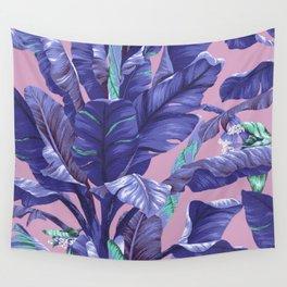 Banana Leaf love Wall Tapestry