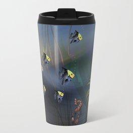 Tropical Underwater Wave  Travel Mug