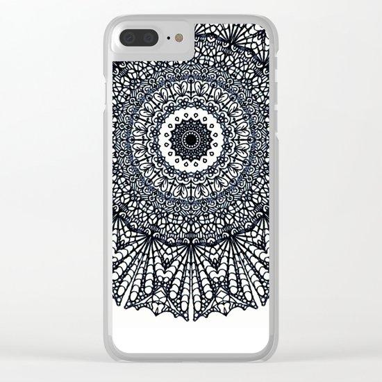 Mandala Mehndi Style G378 Clear iPhone Case