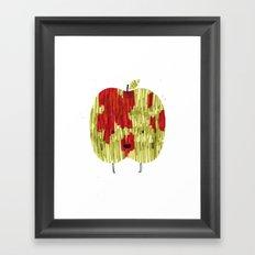 Eat Your Fruit! // Apple Framed Art Print