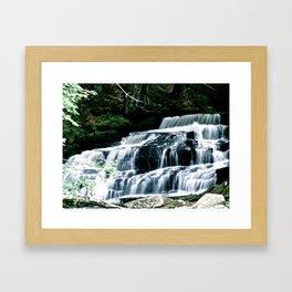 Water Creek Framed Art Print