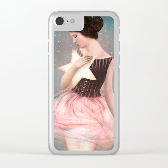Wish Upon A Star Clear iPhone Case