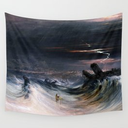 Destruction of Tyre by John Martin (1840) Wall Tapestry