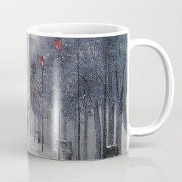 Paris in the snow Coffee Mug