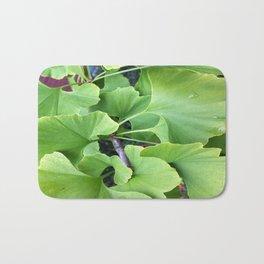 Ginkgo Leaves Bath Mat