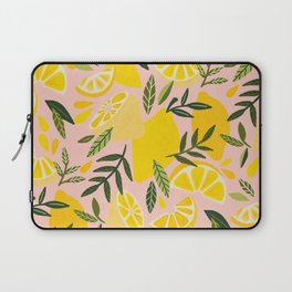 Lemon Blooms – Blush Palette Laptop Sleeve