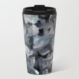 Shades of Gray Tapestry Travel Mug