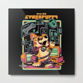 Cyberpuppy Metal Print