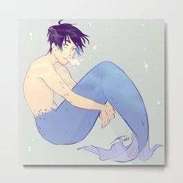 mermaid haru Metal Print