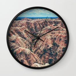 The Canyons (Color) Wall Clock