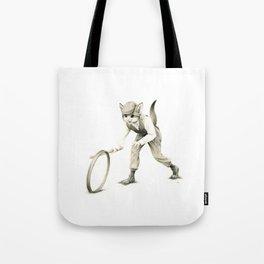 Victorian Cat Series 02 Tote Bag